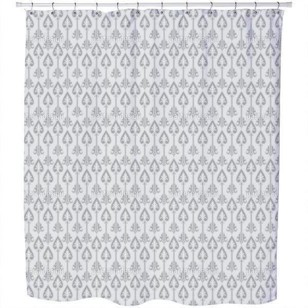 The Queens Army Shower Curtain
