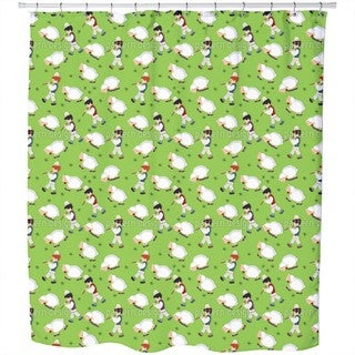 The Little Shepherds Shower Curtain