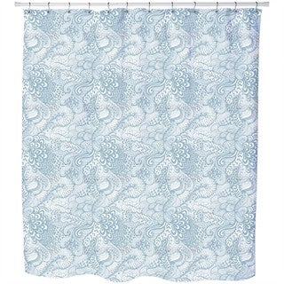 The Garden of Poseidon Shower Curtain