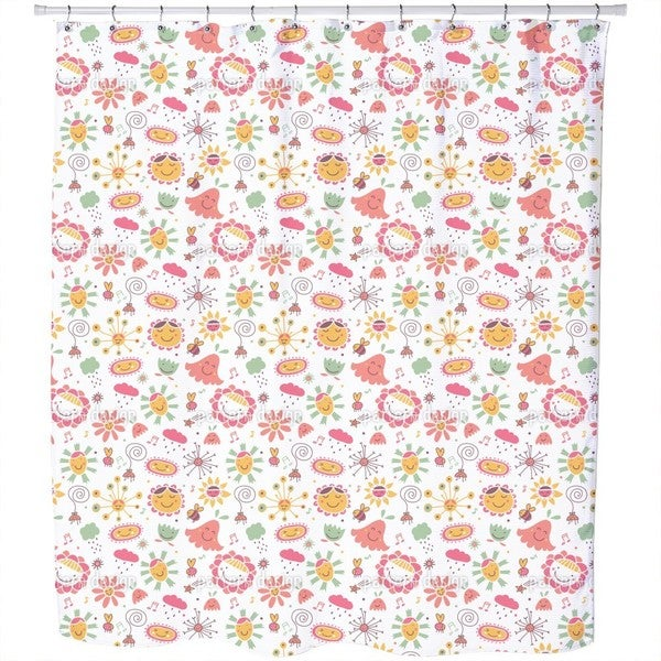 The Flower Song Shower Curtain