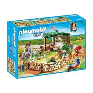 Playmobil Children's Petting Zoo Building Kit