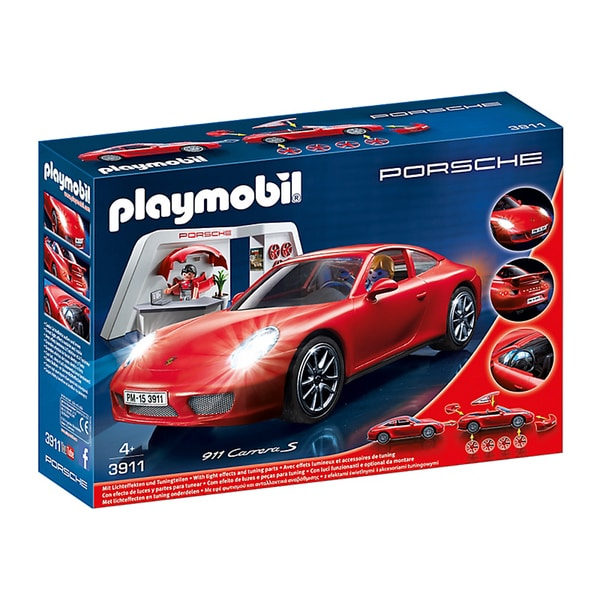 Playmobil Porsche 911 Carrera S Building Kit 18007200