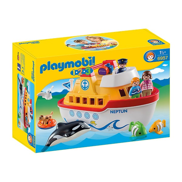 Playmobil My Take Along Ship Building Kit
