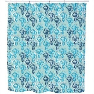 Poseidon Calls Shower Curtain