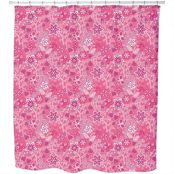 Strawberry Secret Shower Curtain