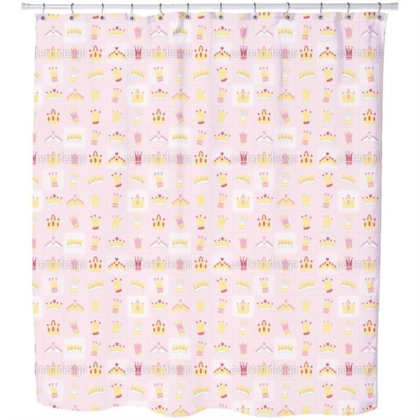 Royal Crowns Shower Curtain