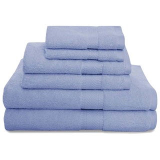 Montgomery Airelight and 2 Ply Loops 6 Piece Luxury Towel Set