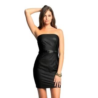 Sara Boo Strapless Little Black Dress