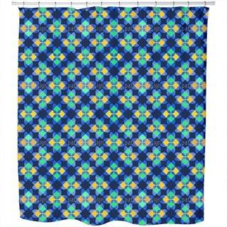 Square Mosaic Shower Curtain