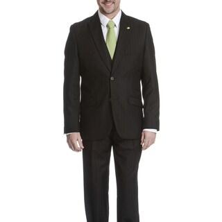 Falcone Men's Pinstripe 3-piece Suit