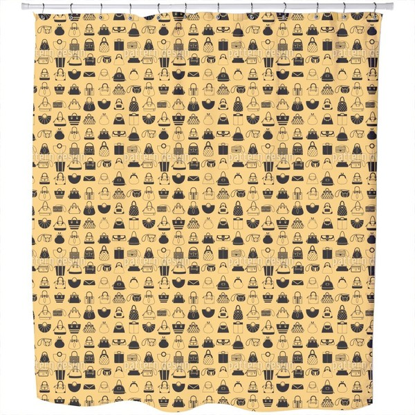 Handbag Addict Shower Curtain