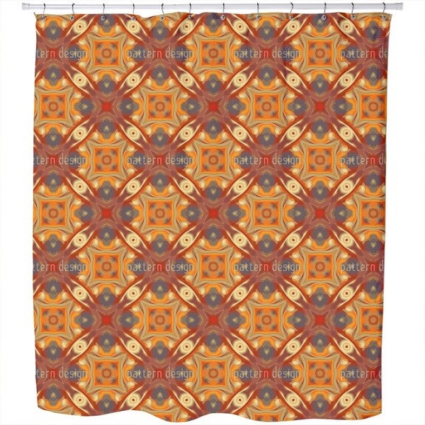 Oriental Eyes Shower Curtain