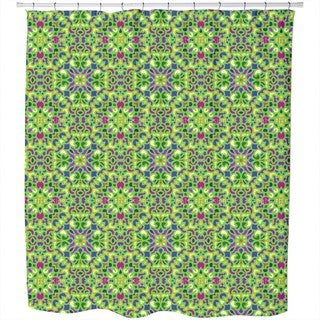 Oriental Mosaic Shower Curtain