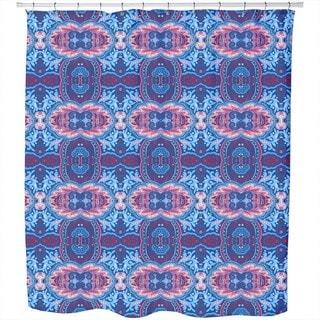 Oriental Midnight Dream Shower Curtain