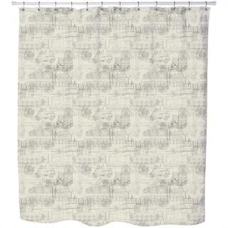 Industrial Revolution Shower Curtain