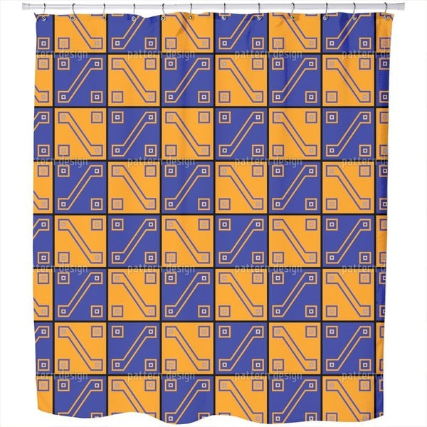 Inca Gold Shower Curtain