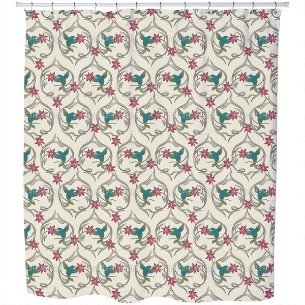 Kolibri Dream Shower Curtain