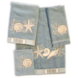 Sand Shells 4-piece Towel Set