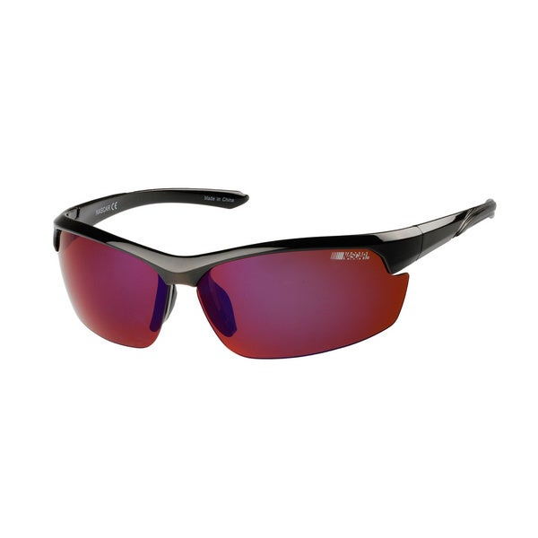 NASCAR Polar Sunglasses Mens 8 Gloss Black