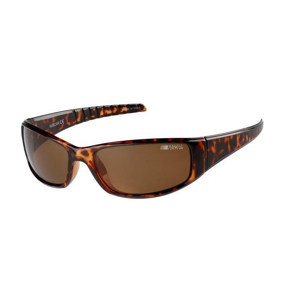 NASCAR Polar Unisex 8 Brown Demi Sunglasses