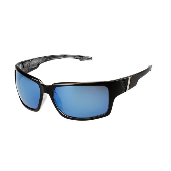 NASCAR Polar Sunglasses Mens 8 Black Blue