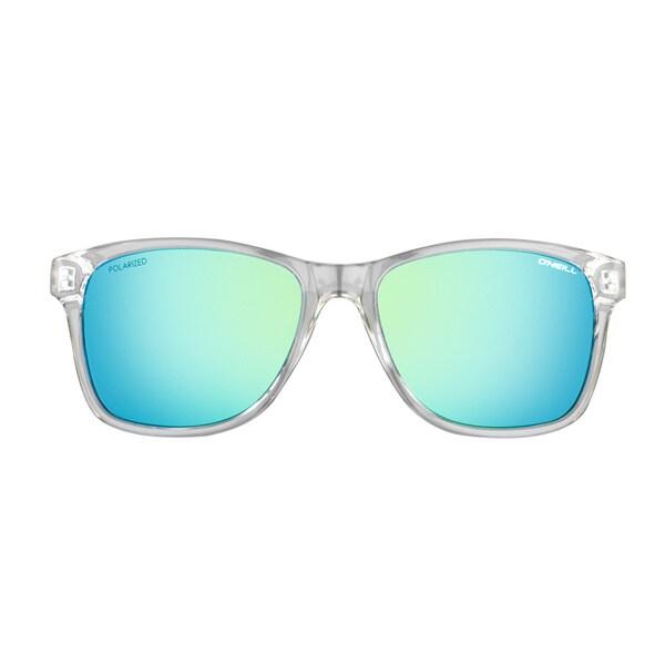 O'Neill Gloss Clear Crystal Lime Mirror Sunglasses