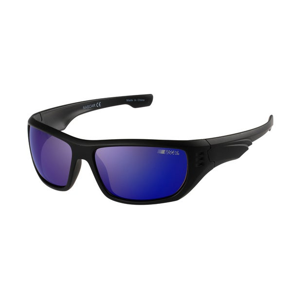 NASCAR Polar Sunglasses Mens 8 Matte Black