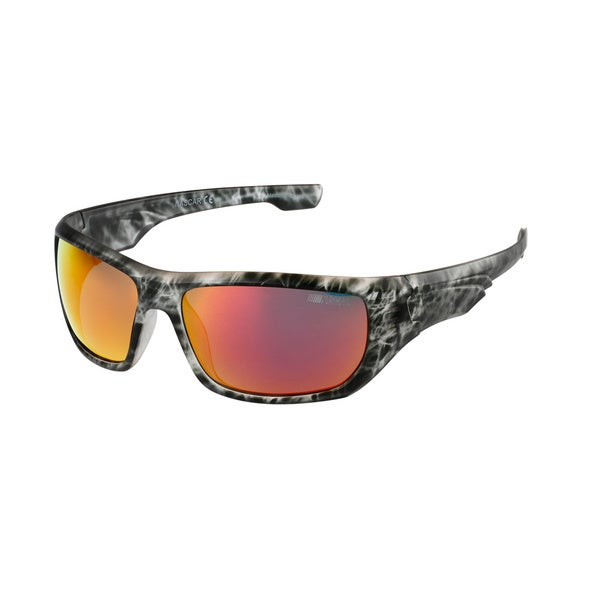 NASCAR Polar Sunglasses Mens 8 Liquid Grey