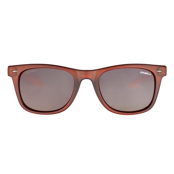 O'Neill Matte Brown Peach Crystal Brown Sunglasses