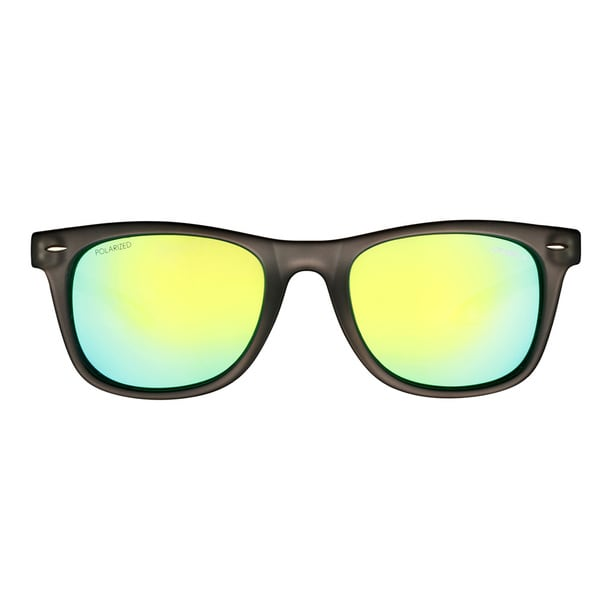 O'Neill Matte Grey Green Crystal Green Mirror Sunglasses