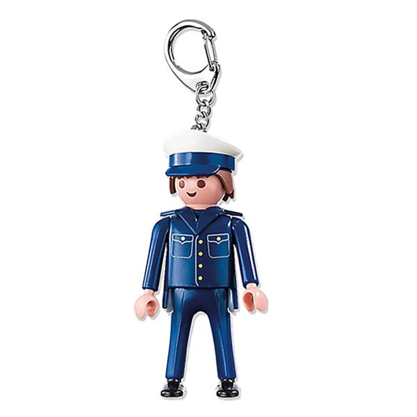 Playmobil City Action Policeman Keyring 18010083