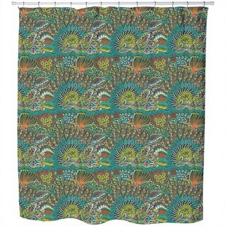 Reefgarden of The Ocean King Shower Curtain
