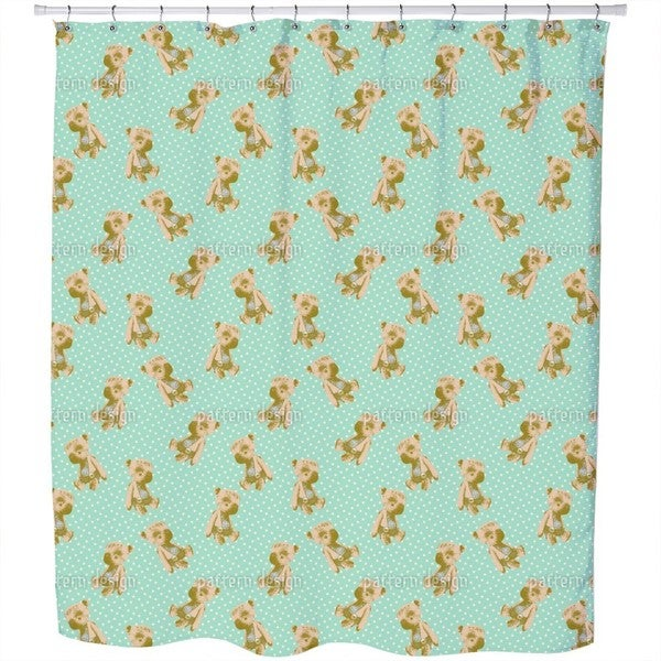 My First Teddy Shower Curtain