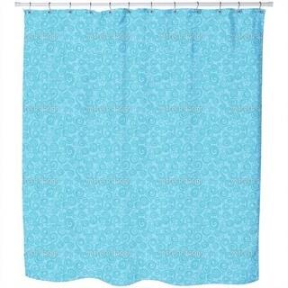 Mermaid Curls Shower Curtain