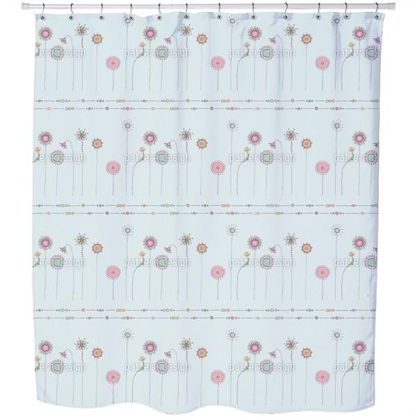 Magic Meadow Shower Curtain