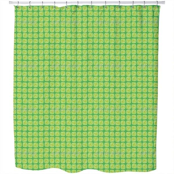 Lemon Drops Shower Curtain