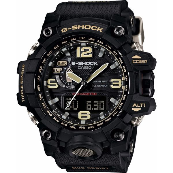 Casio Men's GWG1000-1A G-Shock Black Watch