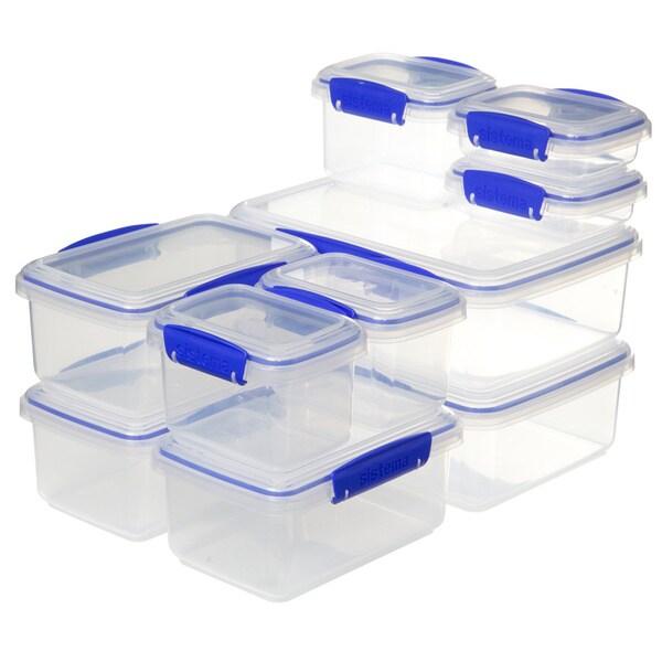 Sistema Klip It Clear Storage Ware 10pk