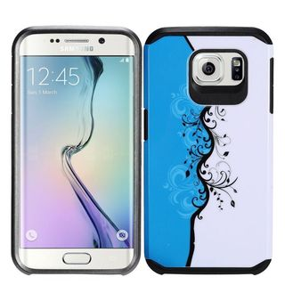 Insten Vines Hard PC/ Silicone Dual Layer Hybrid Rubberized Matte Case Cover For Samsung Galaxy S7
