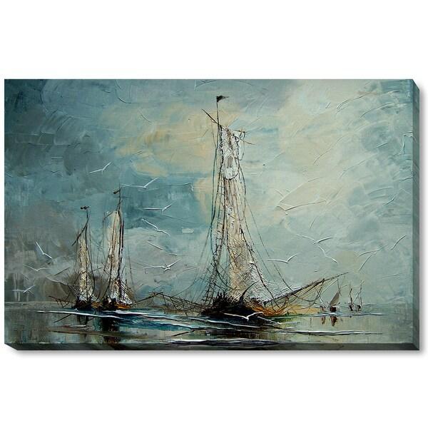 Justyna Kopania 'Boats' Fine Art Print 18012661