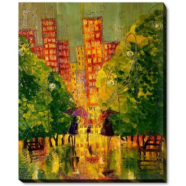 Justyna Kopania 'Rain' Fine Art Print 18012673
