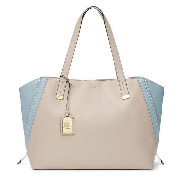 Lauren Ralph Lauren Guilford Leather Tote Bag