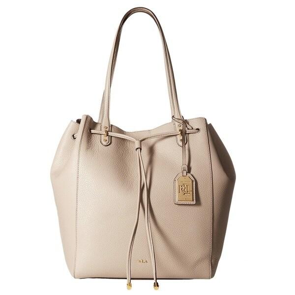 Lauren Ralph Lauren Oxford Leather Tote Bag