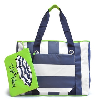 Cabana Stripes Beach Tote
