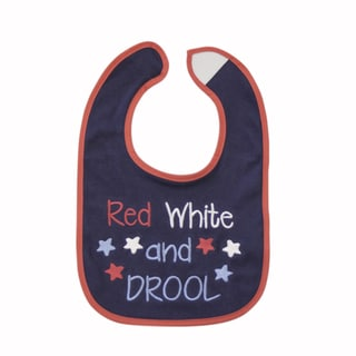 Red, White, and Drool Bib