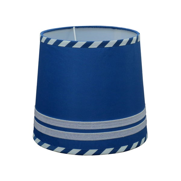 Koala Baby Lamp Shade in Navy Stripe
