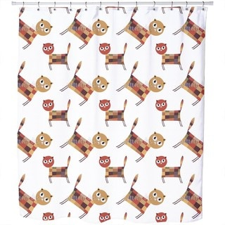 Cat Mission Shower Curtain