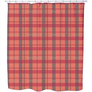 Carolina Tartan Shower Curtain