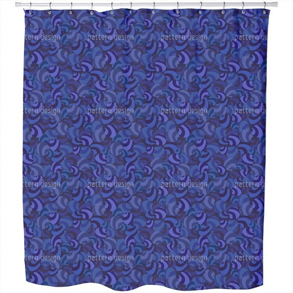 Candy Crush Blues Shower Curtain