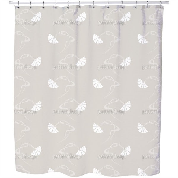 Burlesque Beige Shower Curtain